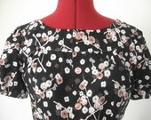 Japanese Ume Retro Blouse / Tunic