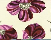 Amy Butler Home Decor Fabric NIGELLA  Maroon Grandflora 1 YARD