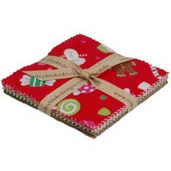 Christmas Candy Charm Pack - Riley Blake