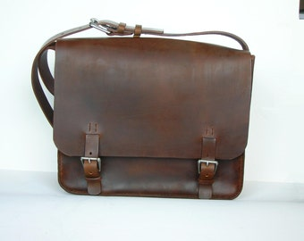 Bagley Executive Courier dark brown