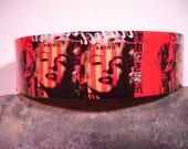 James Dean Marilyn Monroe Pop Art Decoupage Cuff Bracelet