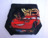 Large Fleece Soaker - Side Snapping Cars 2