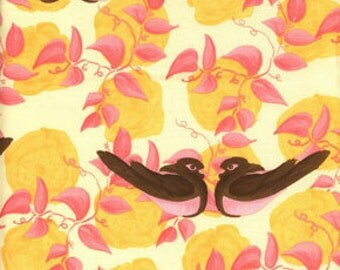 Free Spirit Tina Givens Annabella Nikki Birds Fabric