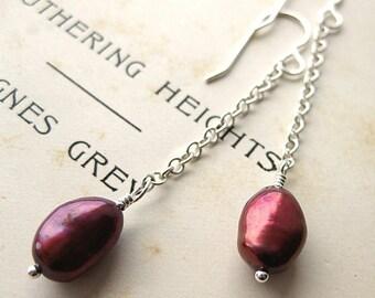 Blush Pearl Earrings.