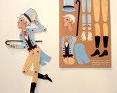 Circus Folk DIY Paper Doll, Arthur