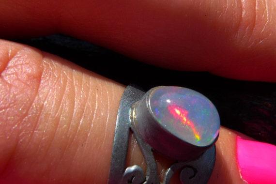 fire opal ring, Brazilian jewelry