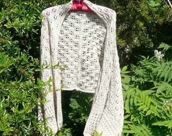 Knitting PATTERN Wrap Stole SCARF - All Seasons Wrap - INSTANT Digital Download