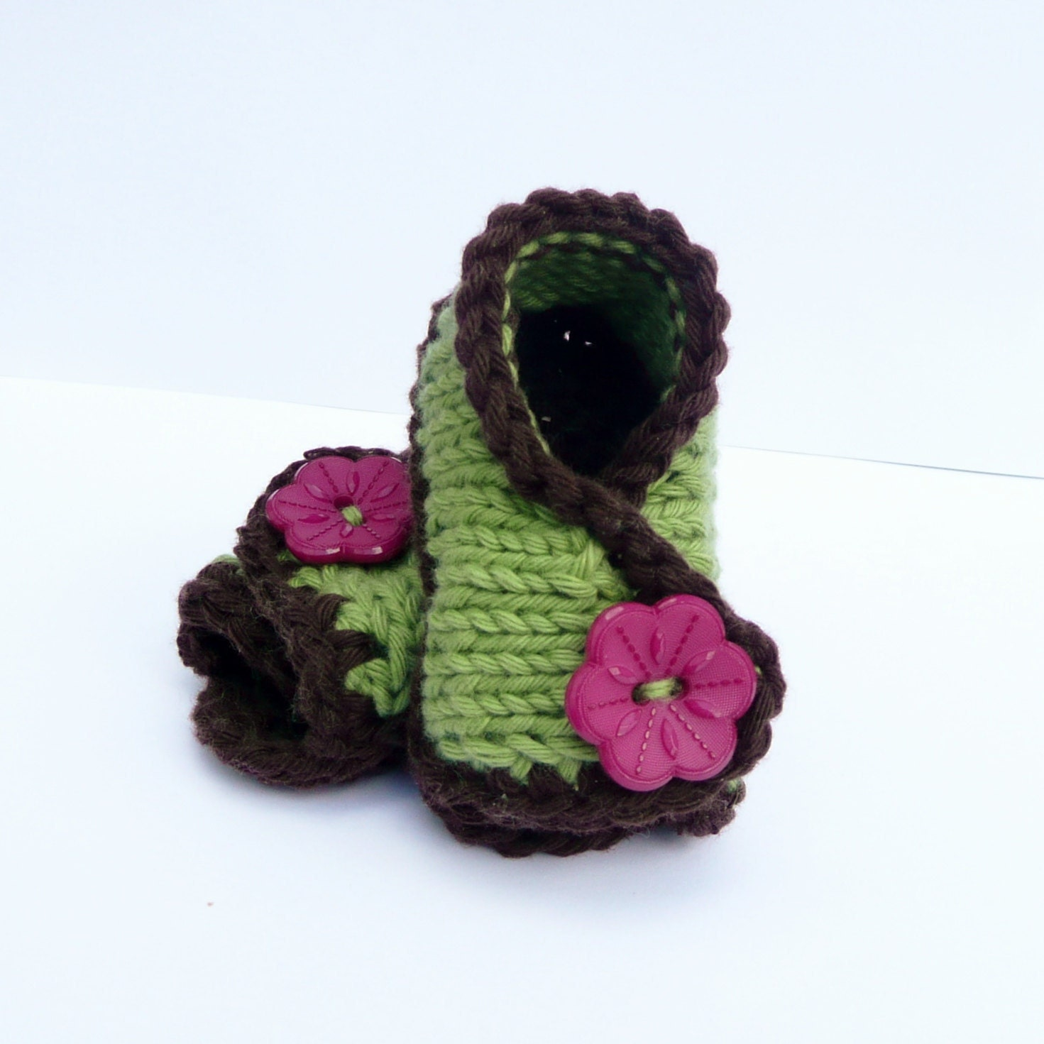 Baby Knit Sandals Baby Booties Knitting Pattern Baby