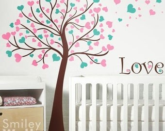 SMILEYWALLS Wall Art For Nursery And Kids Rooms By Smileywalls - Bambi love tree wall decals