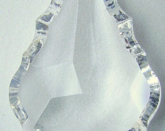Pendant,, SWAROVSKI,  Crystal, CLEAR,  38mmn x 26mm, FLUTED, Large, Sapphire, Amber, Rose