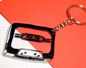 Handmade Cassette Keychain