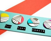 GEOMETRY Buttons Badges