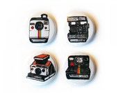 POLAROID Camera Pinback Button Set