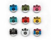 4 Pack Holga Badges - Choose your colours
