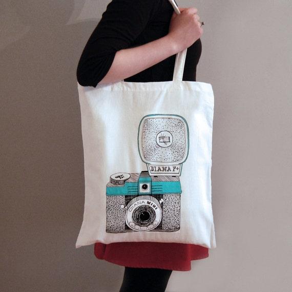 Diana Camera Tote Bag