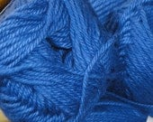 YARN CLEARANCE SALE Bright Blue Bebe Cotsoy Organic Cotton Soy Yarn by Queensland Collection - 01