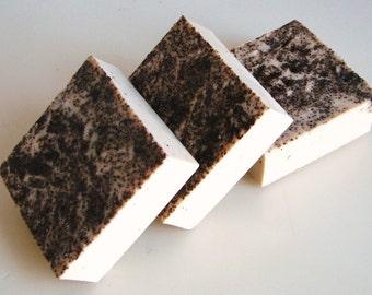 SOAP- Vanilla Caffe Soap - Coffee, Vanilla, Vegan Handmade Soap- Soap Gift