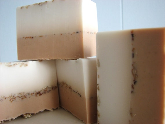 SOAP- Vanilla Coconut Soap - Vegan Soap - Handmade Soap - Tropical Soap- Soap Gift