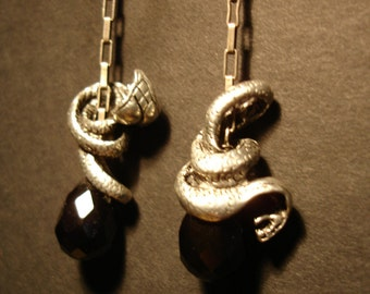 Snakes On A Chain Earrings