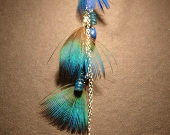 Krishna Feather Earrings