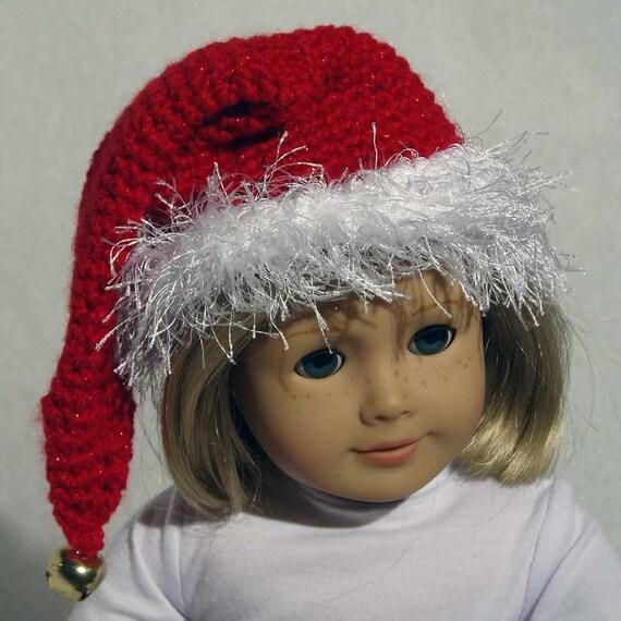 Air Freshener Crochet Dolls Pattern : PDF Santa Doll Hat Crochet Pattern NEW by lorithompsondesign