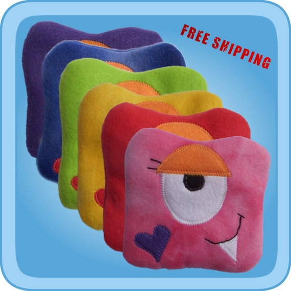 Boo Boo Monster - A fun ice pack alternative