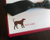 Personalized dog notes