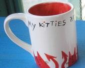 Little Devil Cats Mug