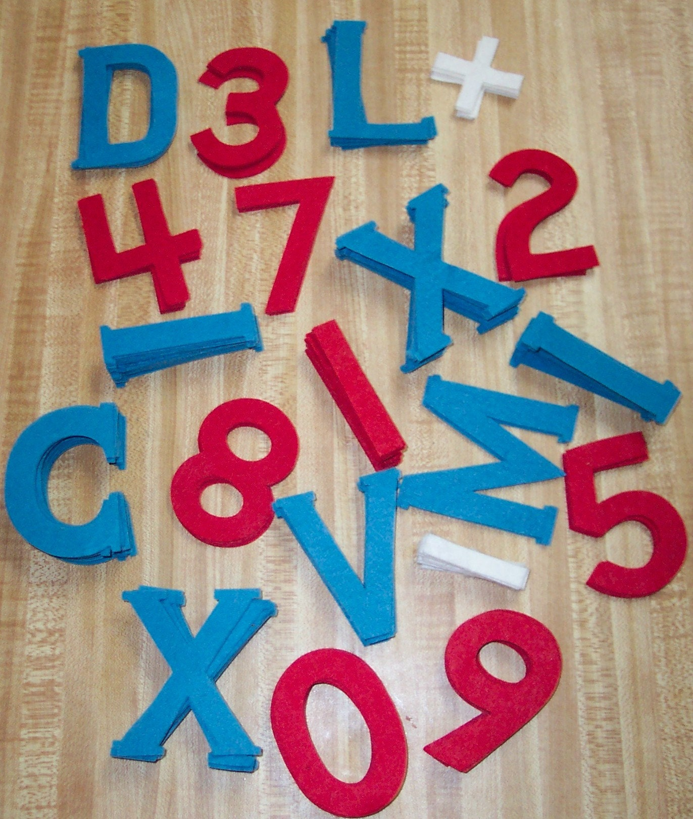 Vintage 60s flannel board felt letters and numbers free for Flannel board letters