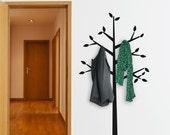 Tree Coat Hanger Wall Decal
