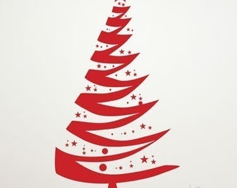 Christmas Tree - Wall Decal