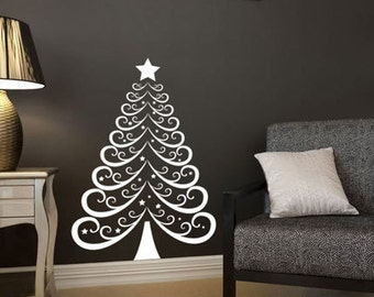 Christmas Tree 2 - Wall Decal