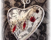On Sale  Heart Necklace