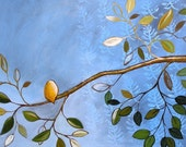"Bird art print, 8 x 10 print ""Suddenly Solitary"" for framing, great gift"