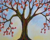 Tree art print...Growing -- 8 x 10 Glossy Print, by Amy Giacomelli, great art gift idea