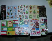 Christmass Stickers Vintage