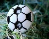 Miniature Soccer Ball Adjustable Ring - For the bold Soccer Babe