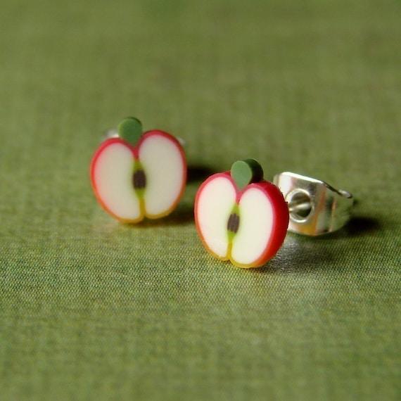 Earrings - Sweet Apple Studs