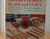 FREE SHIPPING vintage cookbook Good Cookies Plain and Fancy