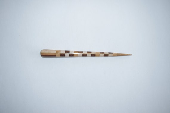 Mothers Favorite Cherry,Maple and Walnut Segmented hair stick      Free US  Shipping