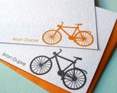 Brian bicycle note cards - bike - set of 12