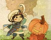 Blue Mage Pumpkin Drop featured image