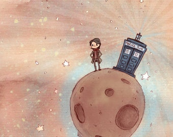 The Little Doctor 5x7 print