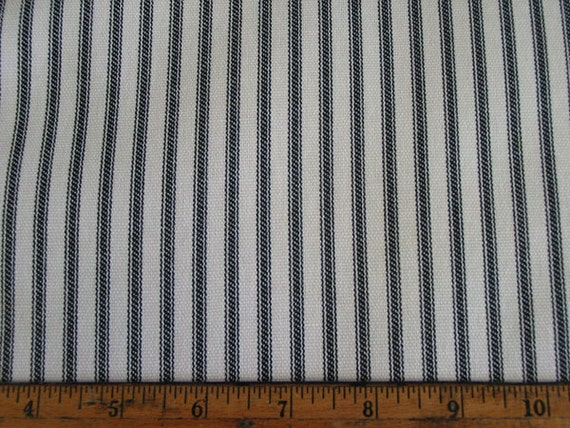 Black Ticking Stripe Box Pleat Bedskirts by ModernFolkShop on Etsy