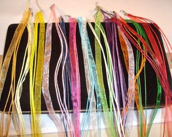 Ribbon adjustable necklace