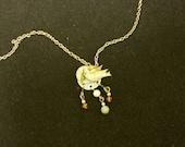 Peace Dove Charm Necklace