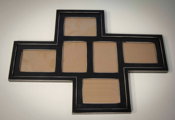 collage picture frame multi 6 opening 5x7. Black Bedroom Furniture Sets. Home Design Ideas