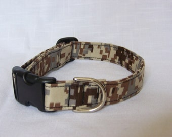 Custom Designer Dog/Cat Collar - Camo