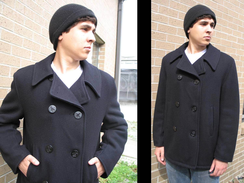 AHOY SAILOR: Vintage Wool Peacoat // Jacket by mskittyvintage