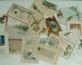 Lot of Christmas Postcards, Vintage